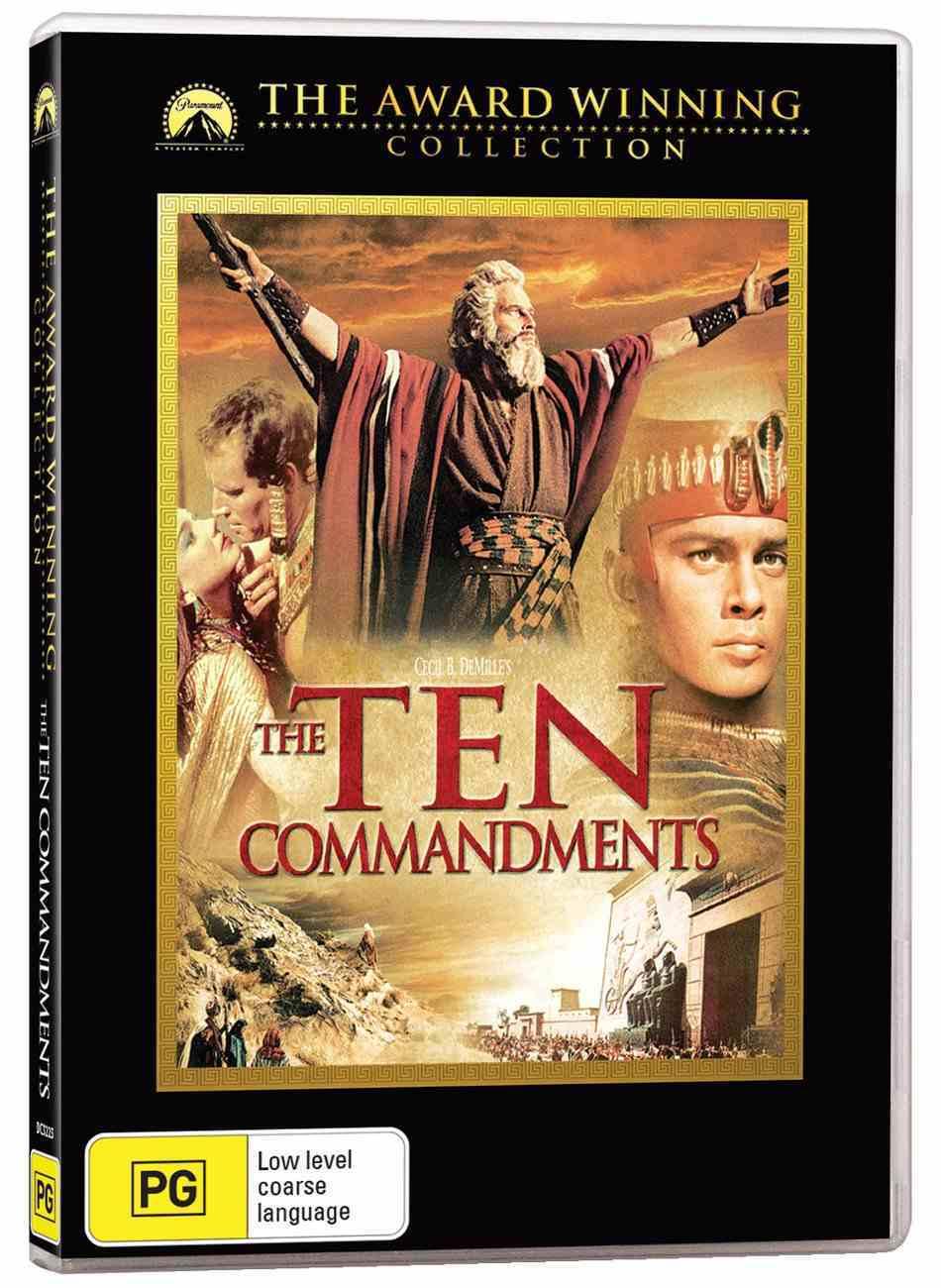 The Ten Commandments (1956 2-disc Set) DVD