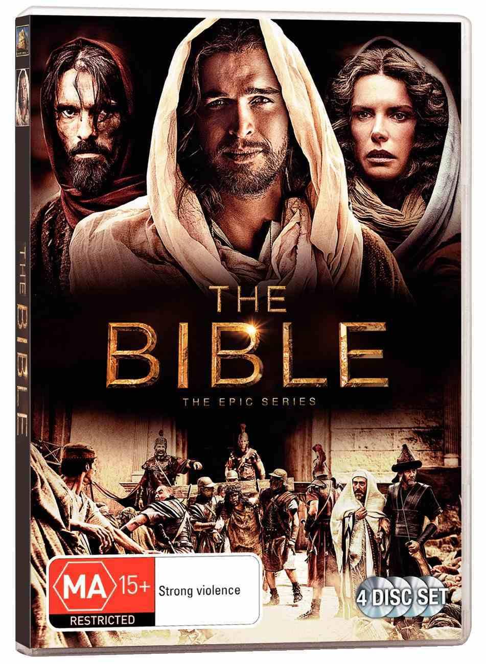 The Bible: The Epic Mini-Series (4-dvd Set) DVD