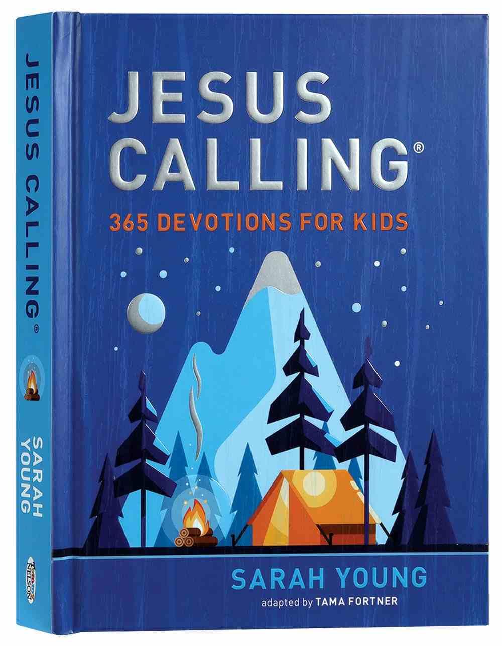 Jesus Calling: 365 Devotions For Kids (Boys Edition) Hardback