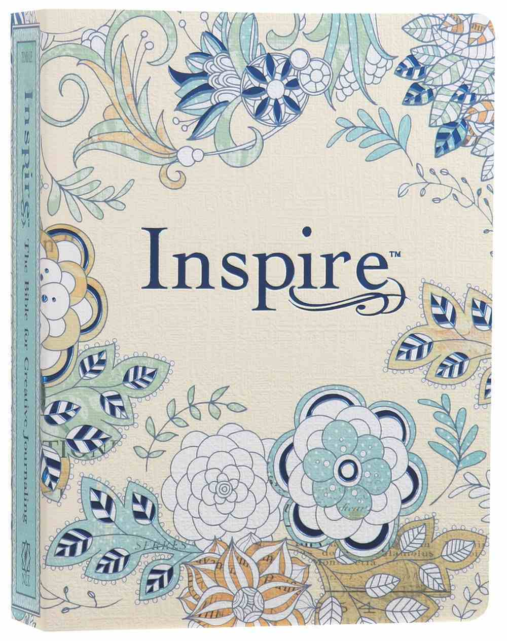 NLT Inspire Creative Journaling Bible (Black Letter Edition) Paperback