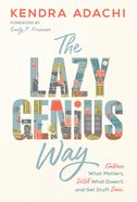 Lazy Genius Way, The image