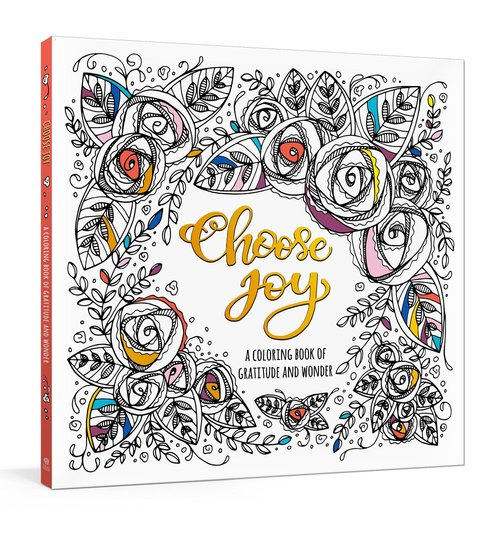 Product: Choose Joy Colouring Book Image