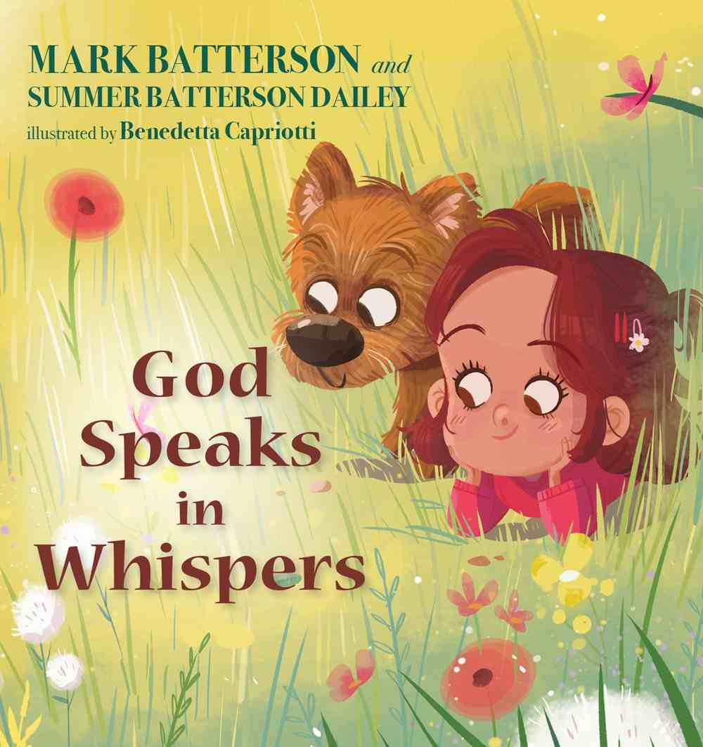 God Speaks in Whispers Hardback