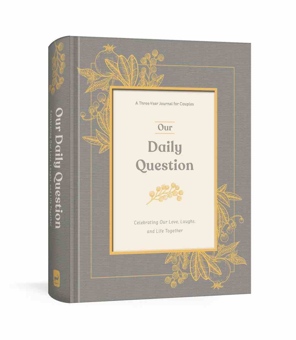 Our Daily Question: A Three-Year Journal For Couples Hardback