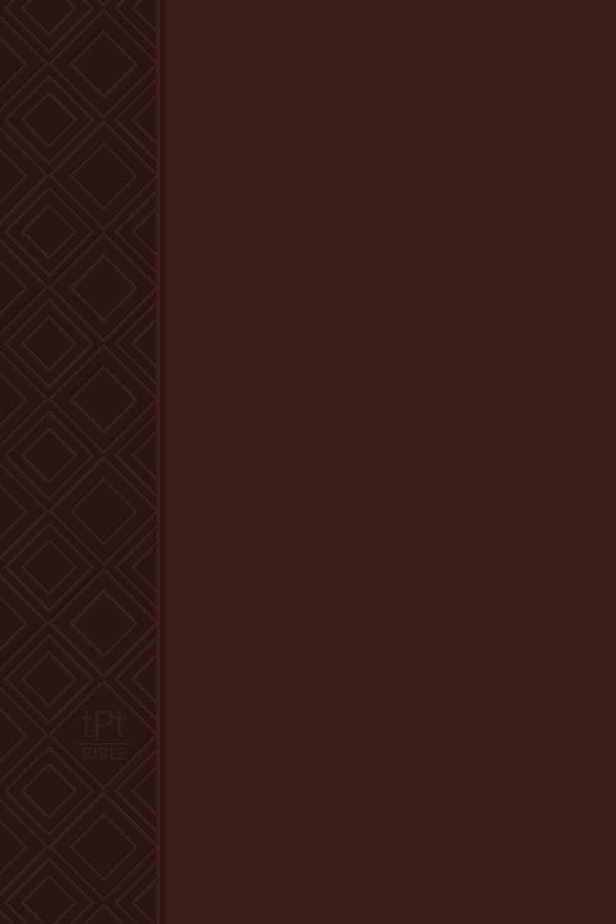TPT NT 2020 Brown (Black Letter Edition) (New Testament With Psalms, Proverbs And The Song Of Songs) Imitation Leather