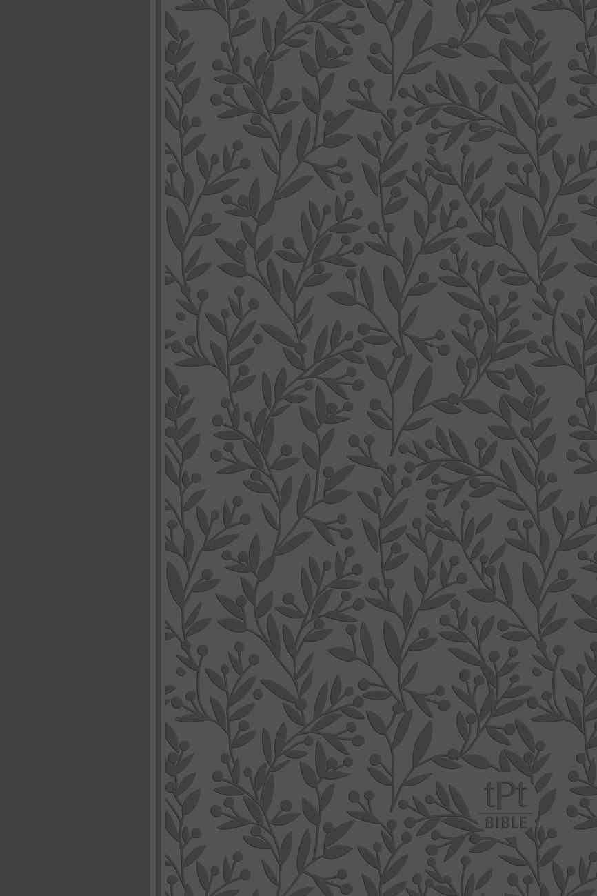 TPT NT 2020 Gray (Black Letter Edition) (New Testament With Psalms, Proverbs And The Song Of Songs) Imitation Leather