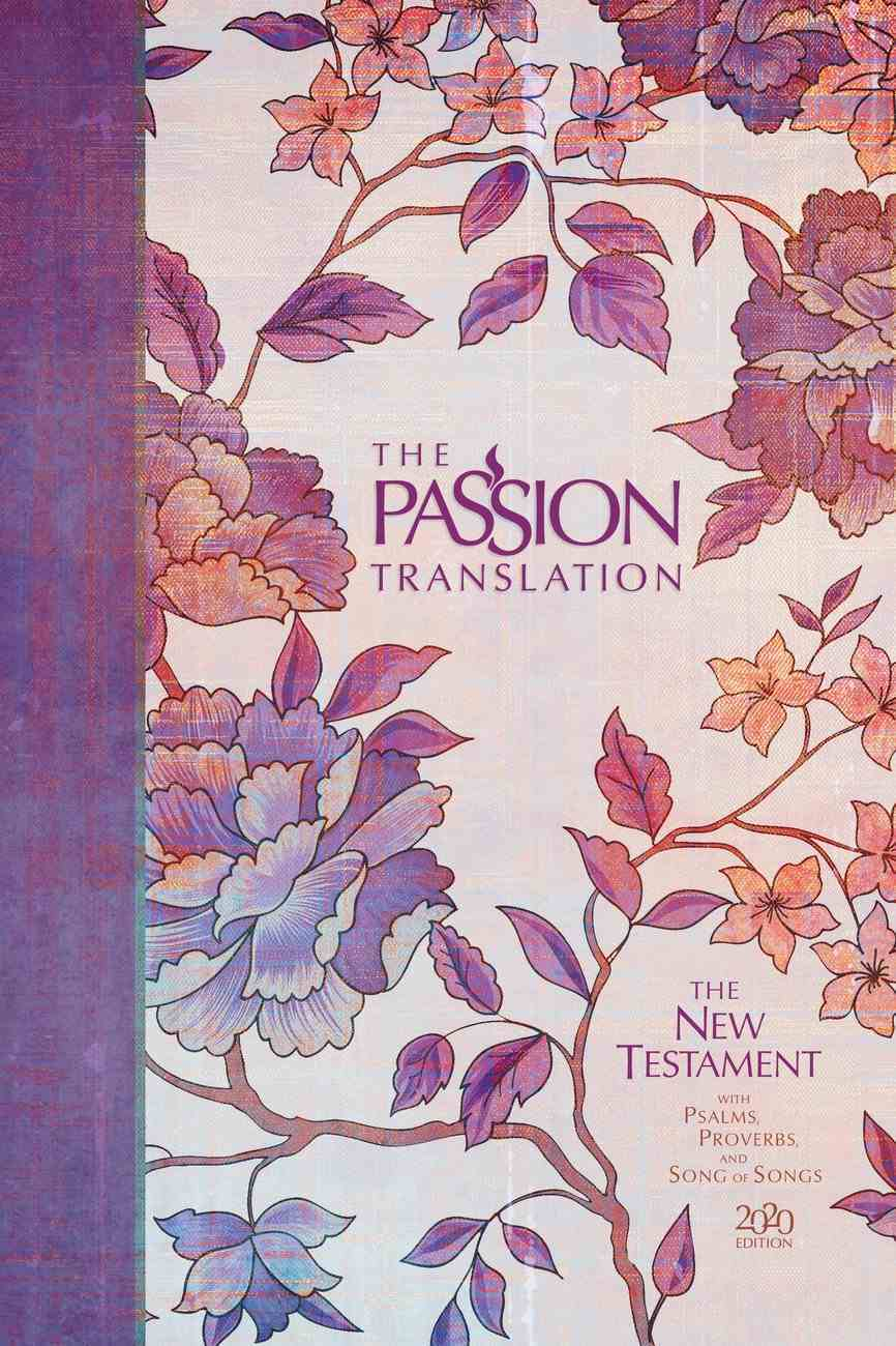 TPT NT 2020 Hardcover Peony (Black Letter Edition) (New Testament With Psalms, Proverbs And The Song Of Songs) Hardback