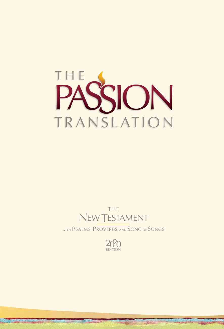 TPT NT 2020 Hardcover Ivory (Black Letter Edition) (New Testament With Psalms, Proverbs And The Song Of Songs) Hardback