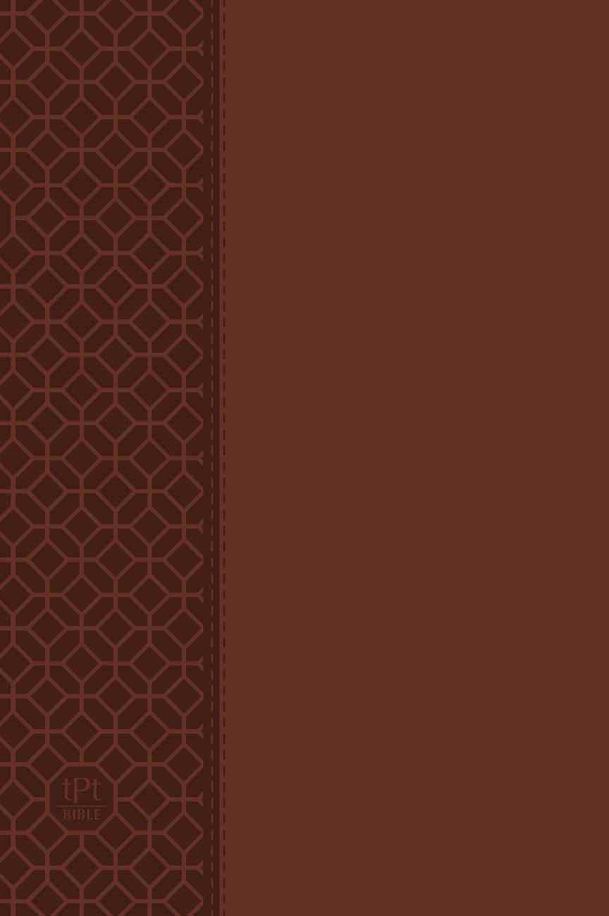 TPT NT 2020 Large Print Brown (Black Letter Edition) (New Testament With Psalms, Proverbs And The Song Of Songs) Imitation Leather