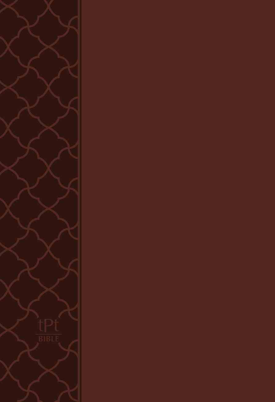 TPT NT 2020 Compact Brown (Black Letter Edition) (New Testament With Psalms, Proverbs And The Song Of Songs) Imitation Leather