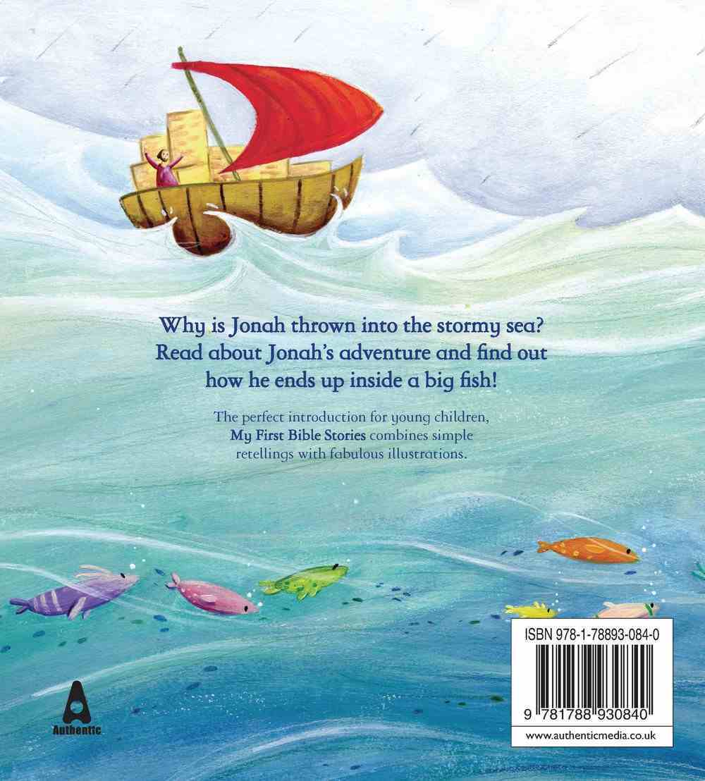 Jonah and the Big Fish (My First Bible Stories Series) Paperback