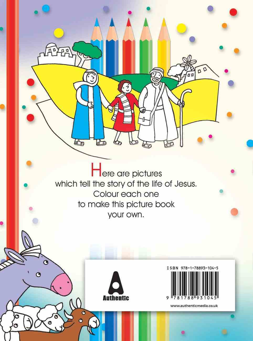 The Story of Jesus Colouring Book Paperback