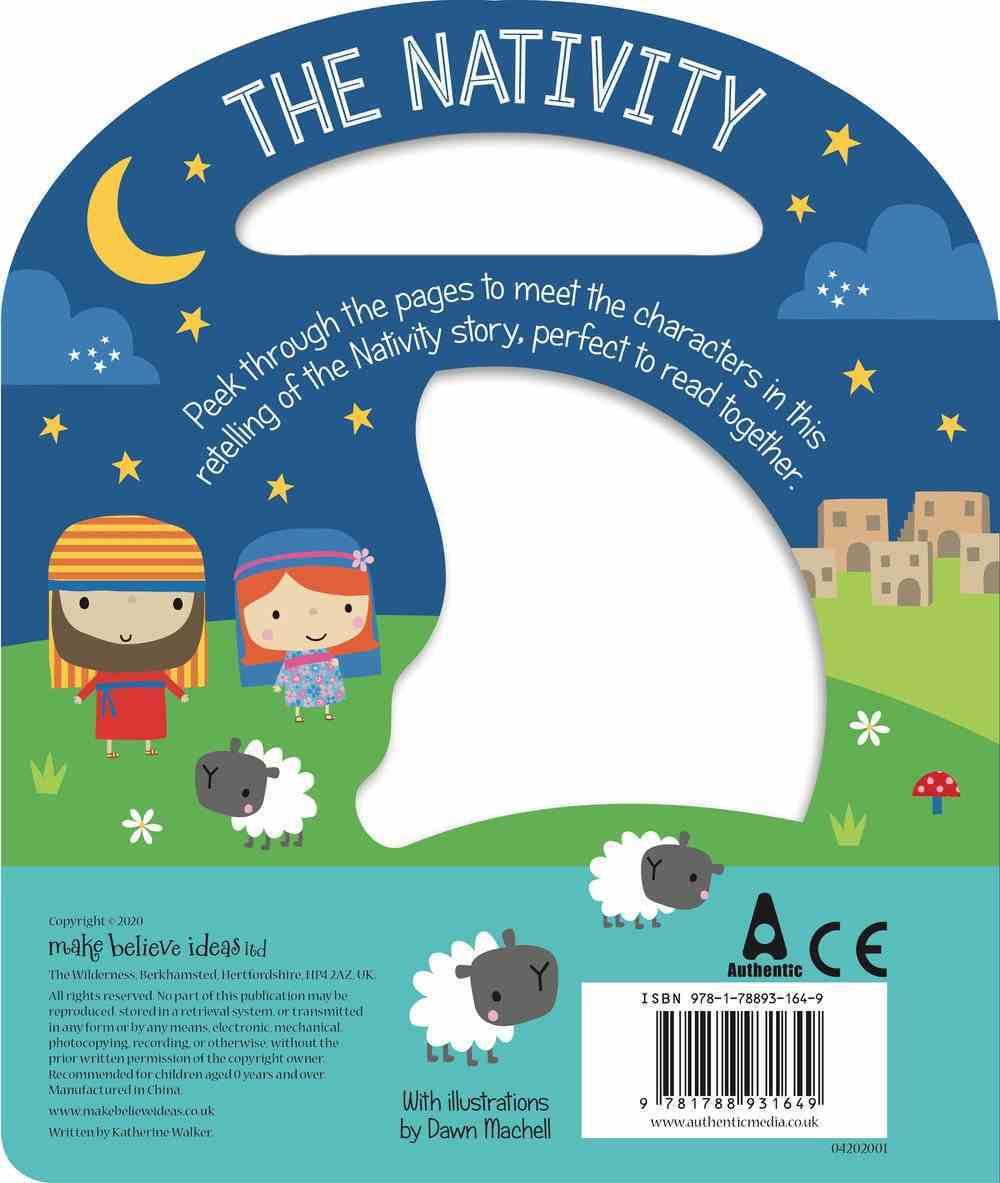 Busy Windows: The Nativity Board Book