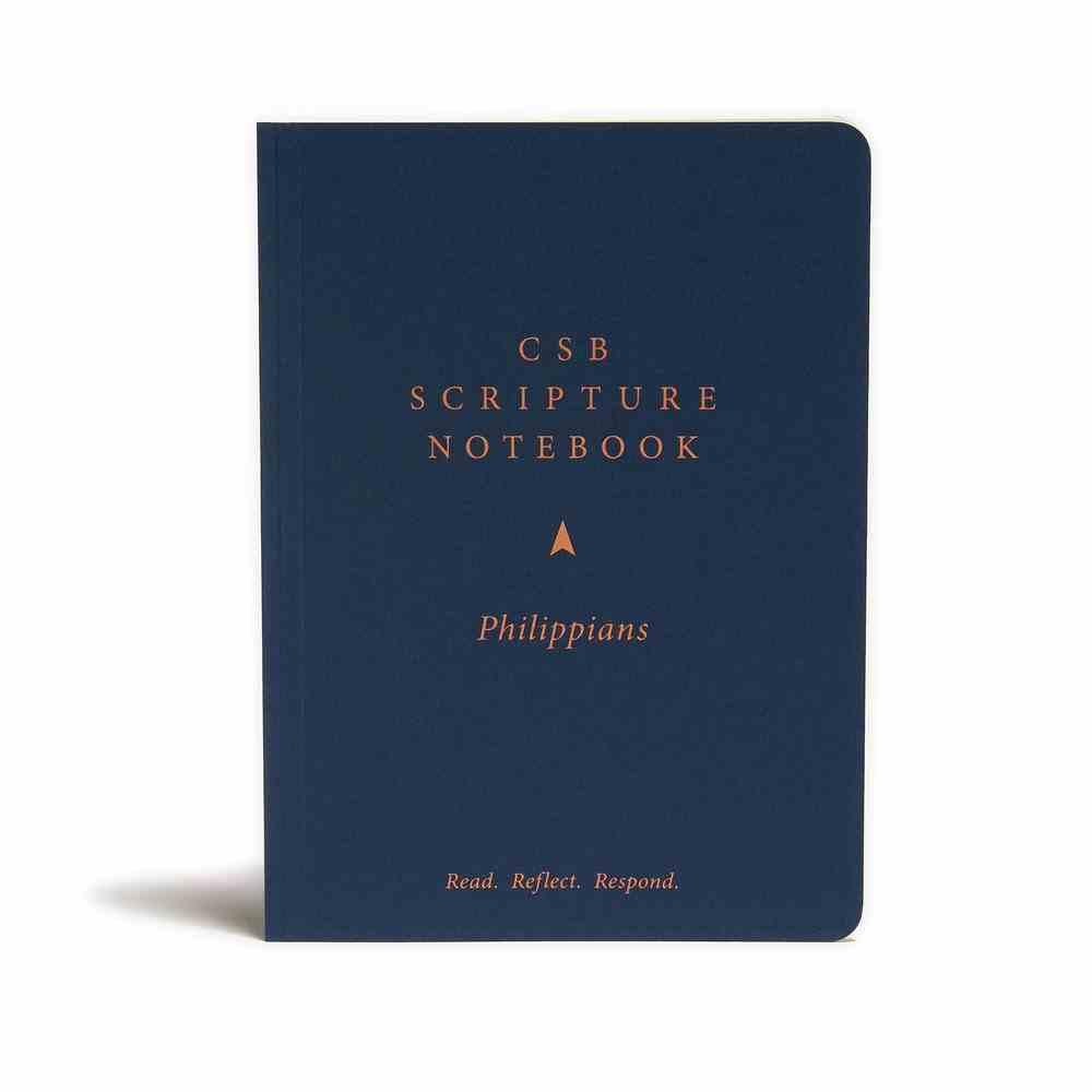 CSB Scripture Notebook Philippians Paperback
