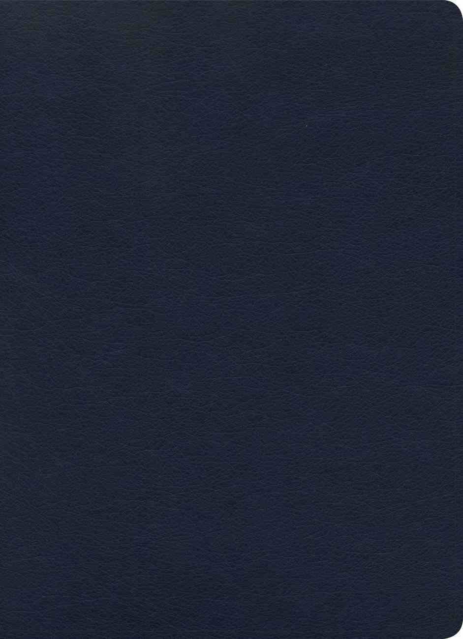 KJV Study Bible Full-Color Navy Indexed Imitation Leather