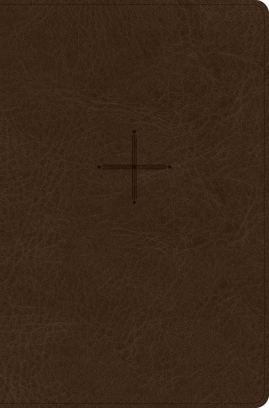 CSB Every Day With Jesus Daily Bible Brown (Black Letter Edition) Imitation Leather