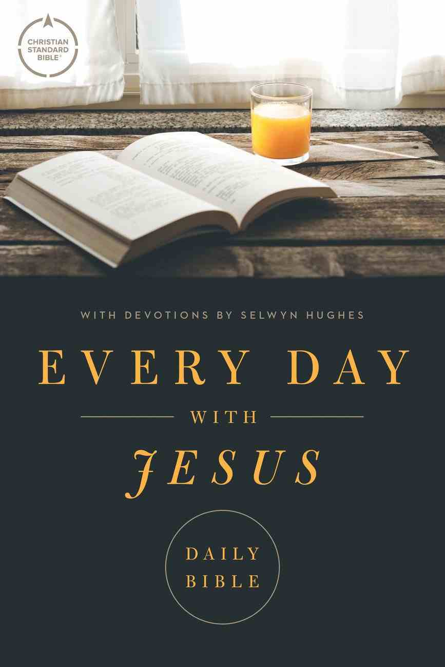 CSB Every Day With Jesus Daily Bible (Black Letter Edition) Paperback