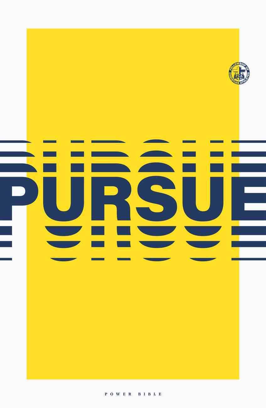 Power Bible: Pursue Edition Paperback