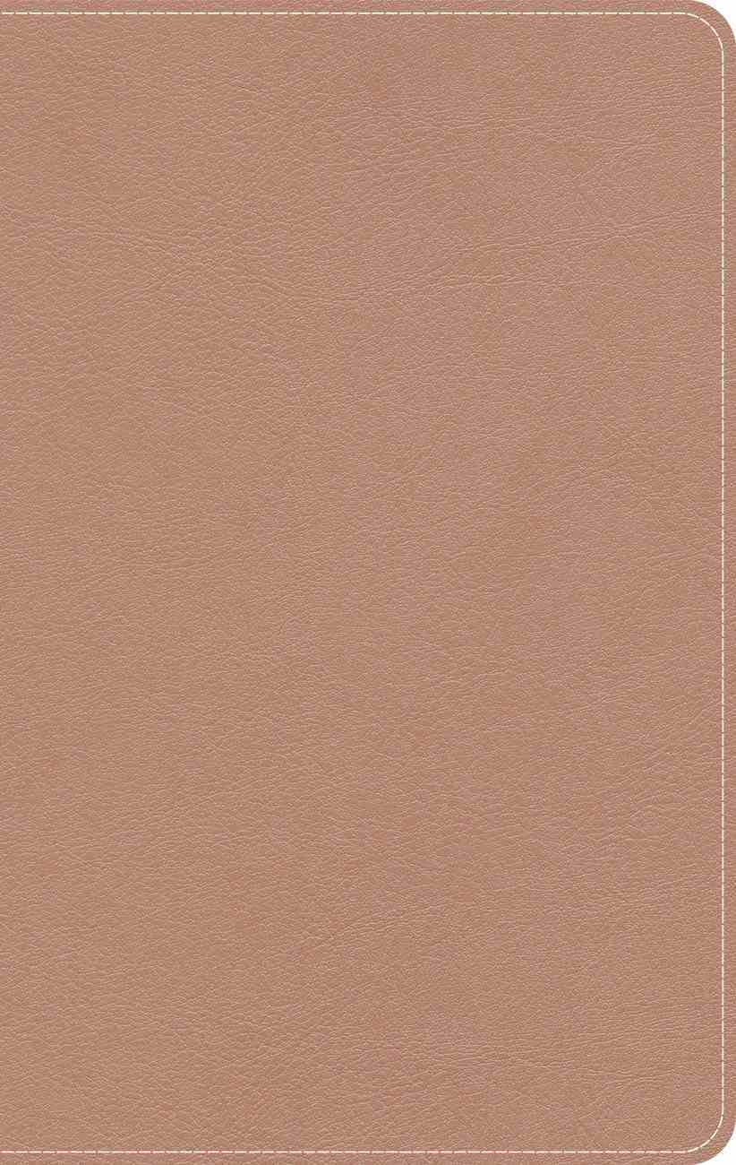 CSB On-The-Go Bible Personal Size Rose Gold (Red Letter Edition) (Red Letter Edition) Imitation Leather