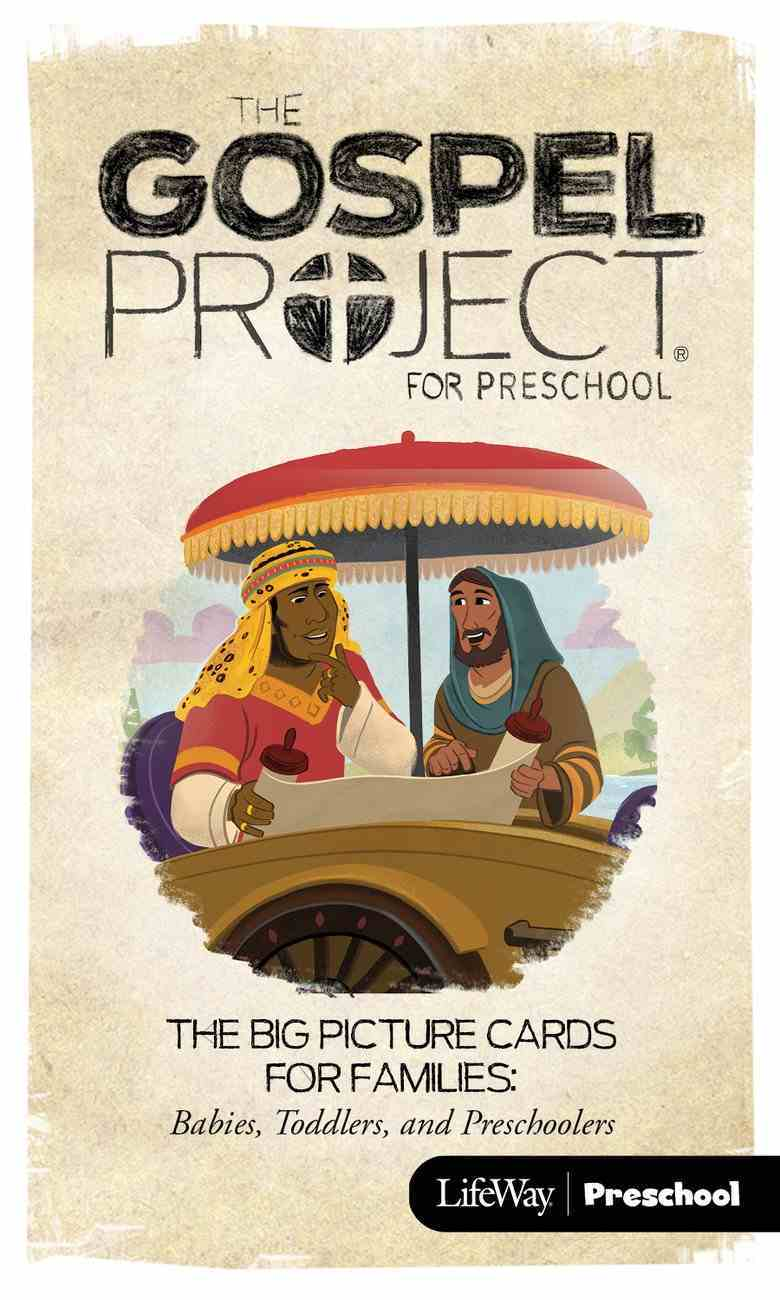 Church on Mission the (Preschool Big Picture Cards For Families) (#10 in The Gospel Project For Kids 2015-18 Series) Cards