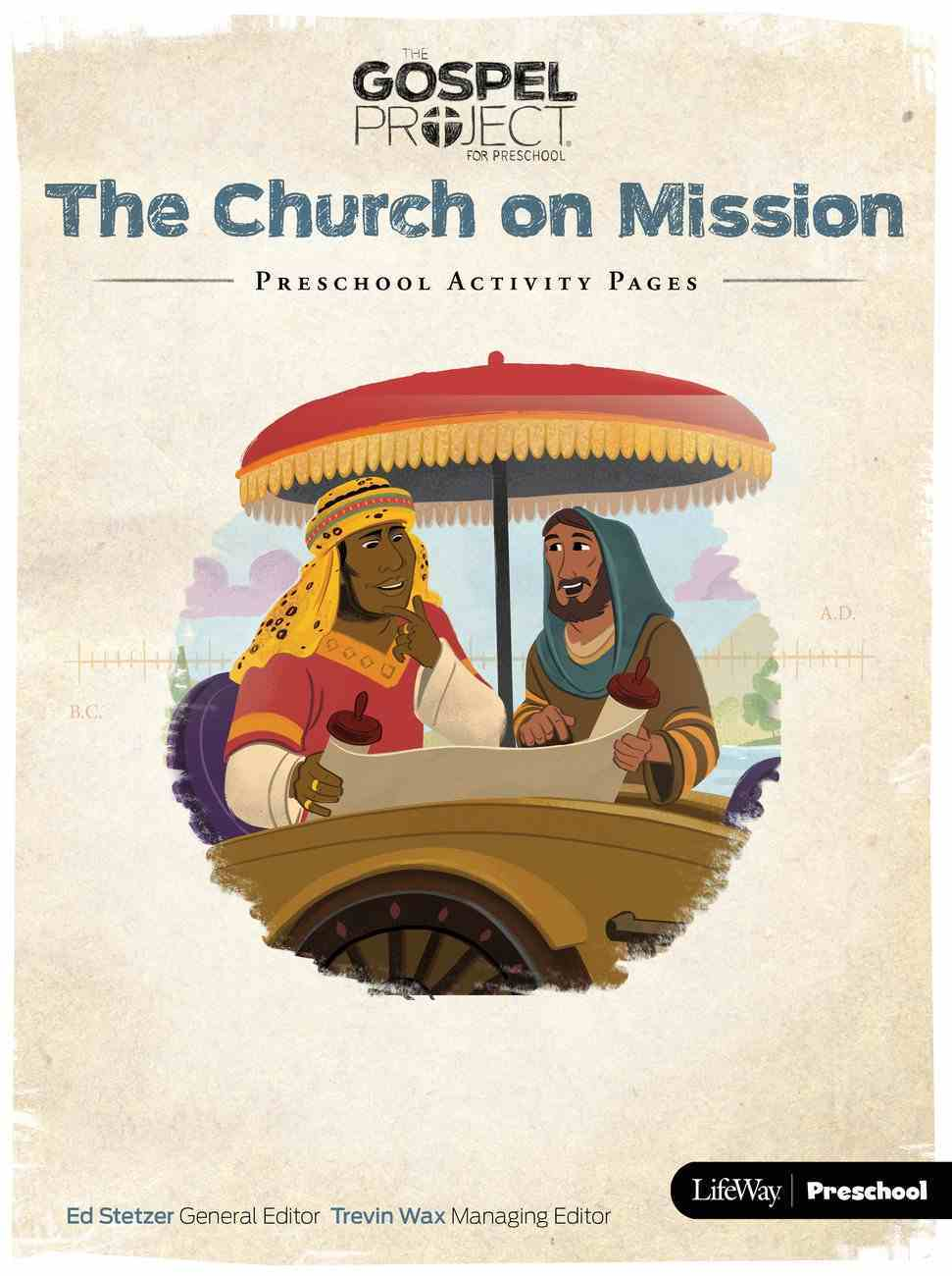 Church on Mission the (Preschool Activity Pages) (#10 in The Gospel Project For Kids 2015-18 Series) Paperback