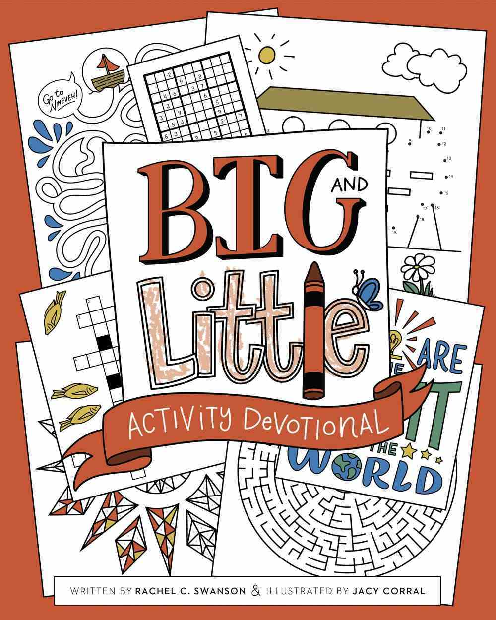 Big and Little Activity Devotional Paperback