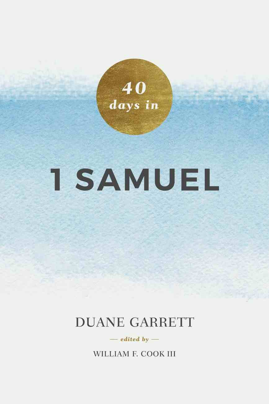 40 Days in 1 Samuel Paperback