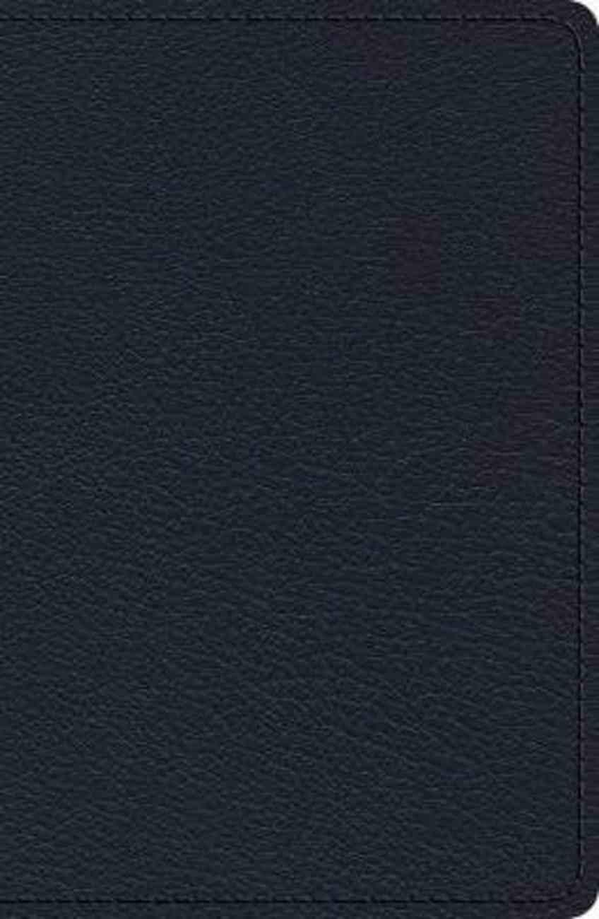ESV Heirloom Single Column Legacy Bible Blue Genuine Leather