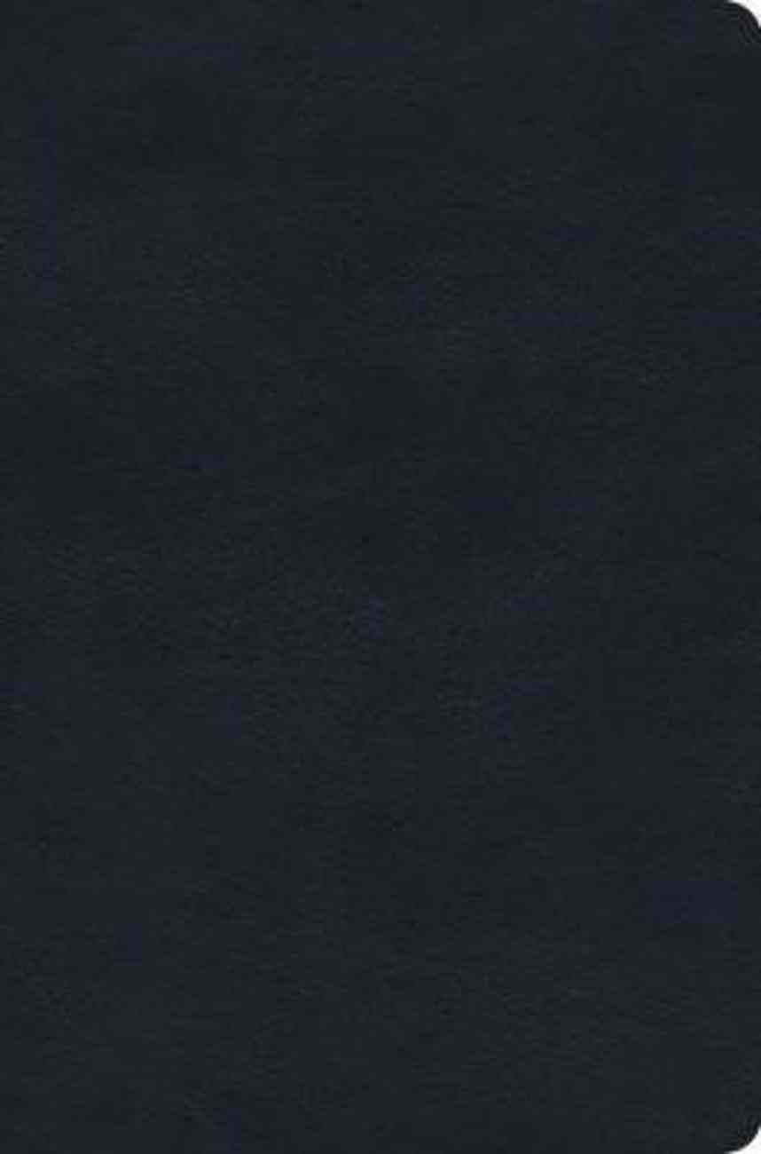 ESV Value Compact Bible Navy Imitation Leather
