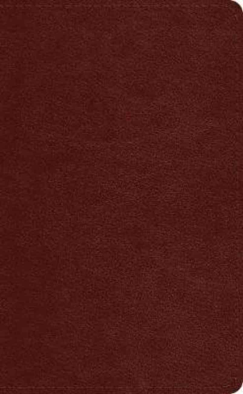 ESV Pocket Bible Chestnut Imitation Leather