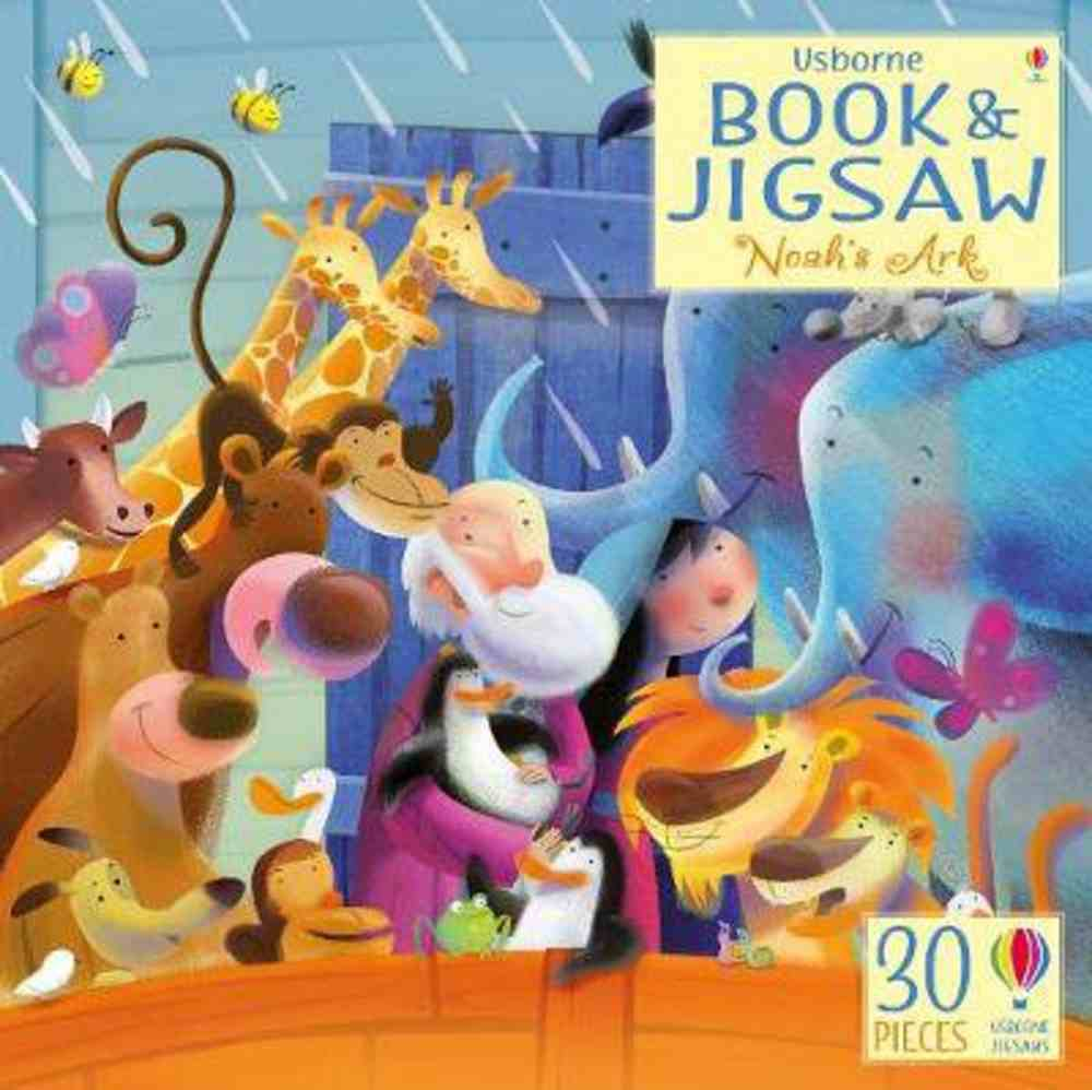 Usborne Book and 30 Piece Jigsaw: Noah's Ark Paperback