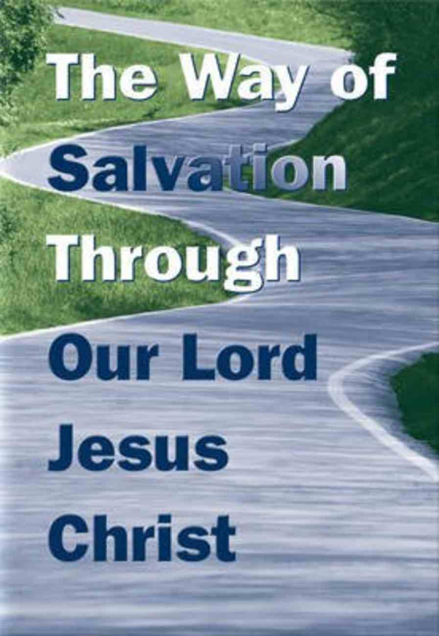 The Way of Salvation: Through Our Lord Jesus Christ (KJV) (5 Pack) Booklet