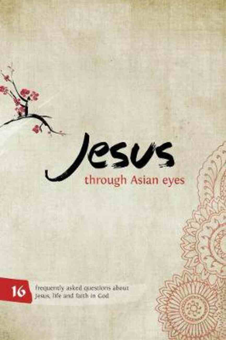 Jesus Through Asian Eyes (Booklet) Booklet