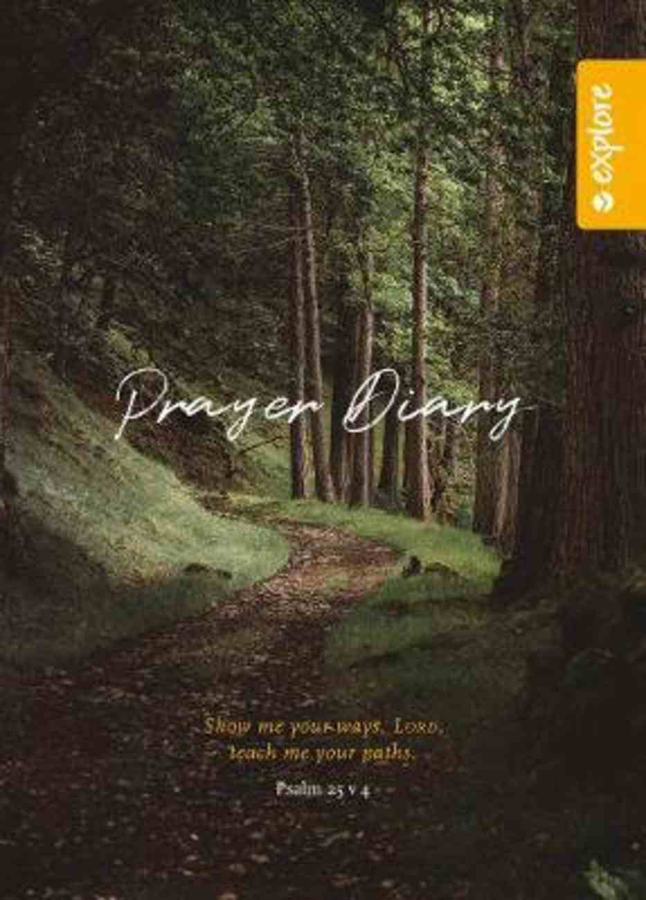 Explore Prayer Diary Spiral