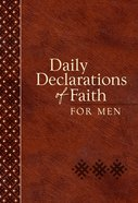Daily Declarations Of Faith For Men image