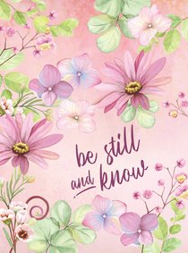 Product: Be Still And Know Image