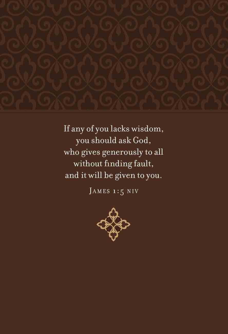 Prayers & Promises For Wisdom Imitation Leather