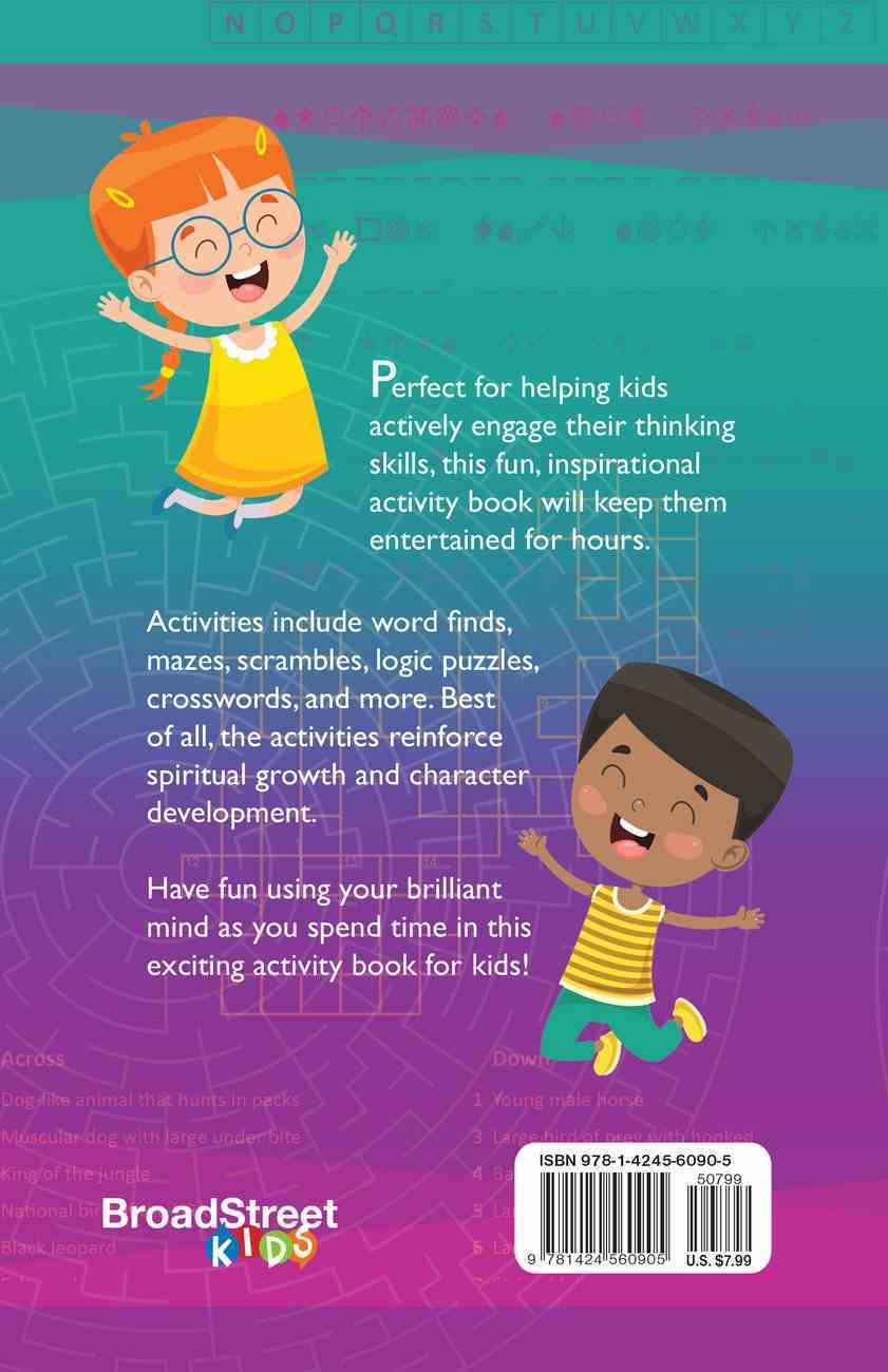 Best Puzzles Ever: Activities For Kids (Word Finds, Mazes, Crosswords, And More) Paperback
