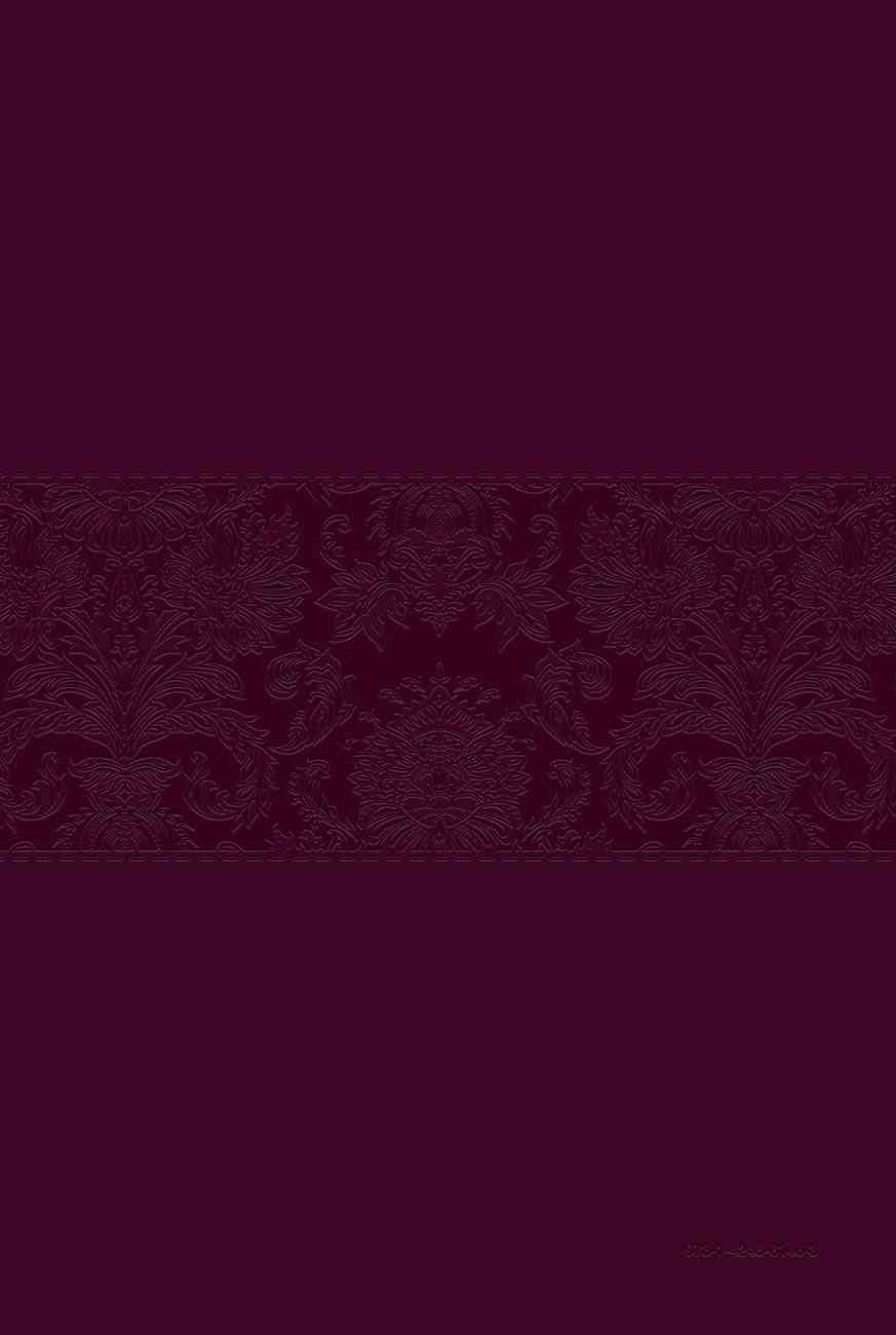 TPT NT 2020 Large Print Burgundy (Black Letter Edition) (New Testament With Psalms, Proverbs And The Song Of Songs) Imitation Leather