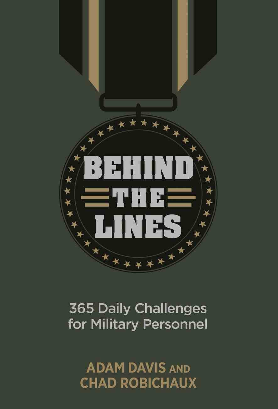 Behind the Lines: 365 Daily Challenges For Military Personnel Imitation Leather