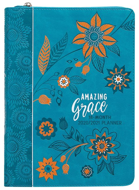 Product: 2021 18-month Planner: Amazing Grace (Faux Ziparound) Image