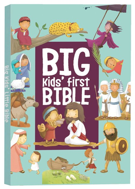 Product: Big Kids' First Bible Image