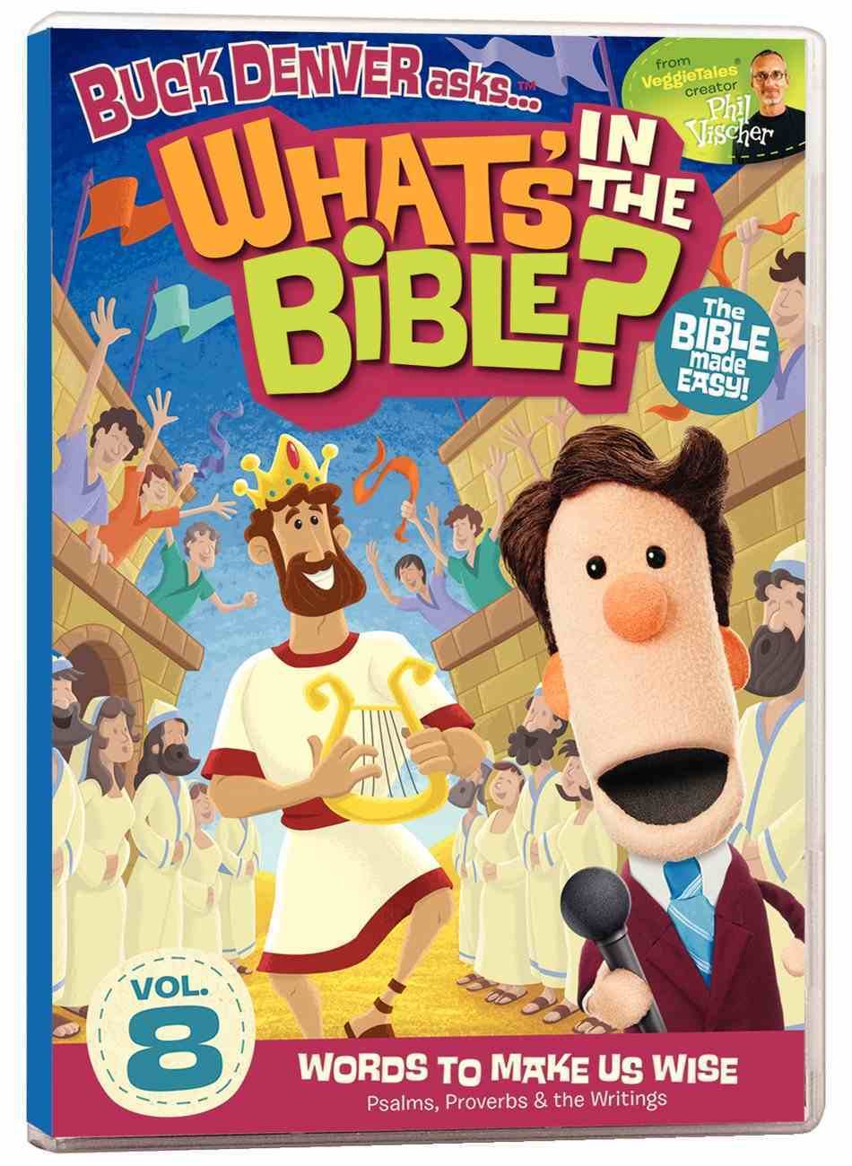Words to Make Us Wise (#08 in What's In The Bible Series) DVD