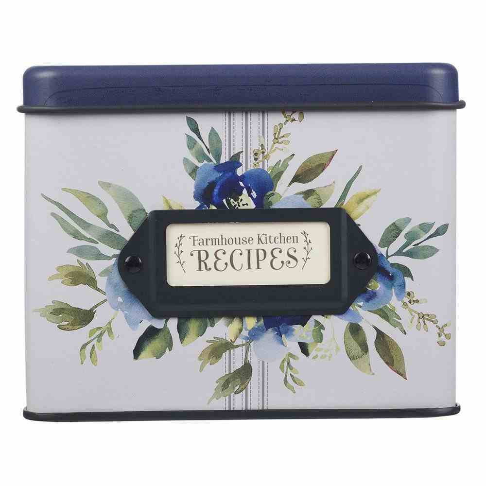 Recipe Cards in Tin Box: Love Joy Grace Collection (Love Joy Grace Collection) Box