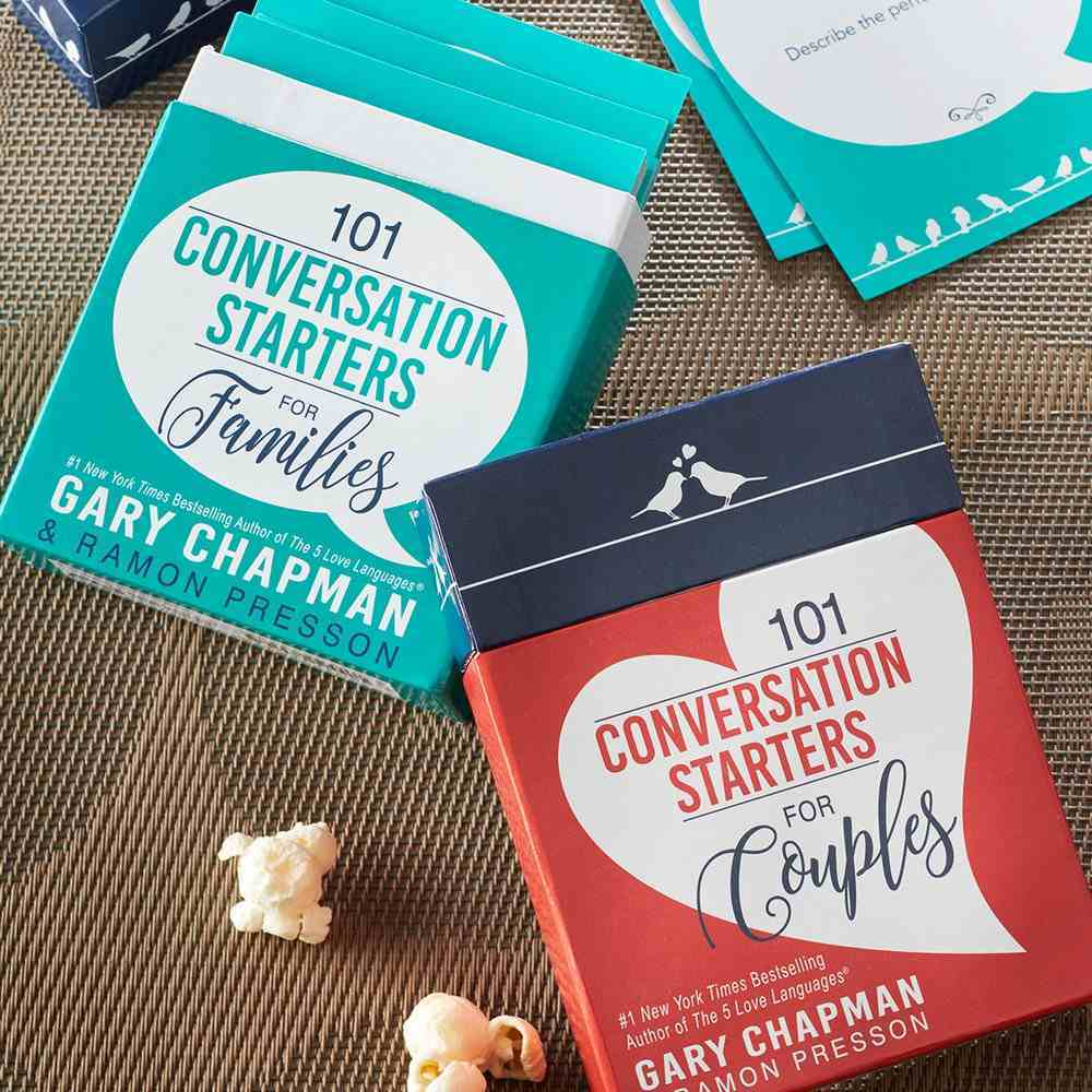 Conversation Starters: 101 Conversations Starters For Couples Box