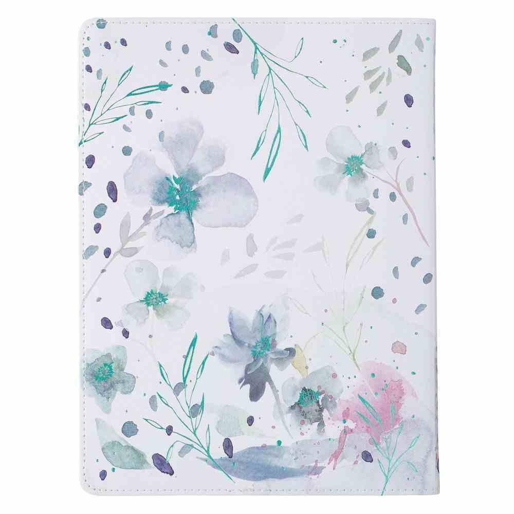 Prayer Journal For Women: Be Still, Floral Imitation Leather