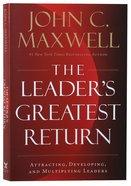The Leader's Greatest Return Paperback