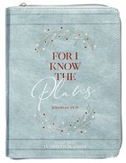 2021 18-month Planner: For I Know The Plans (Faux Ziparound)