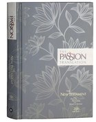 The Passion Translation Nt With Psalms, Proverbs And Song Of Songs (2020 Edn) Hb Floral image