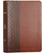 The Passion Translation NT With Psalms, Proverbs And Song Of Songs (2020 Edn) Brown Large Print